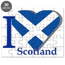 I Love Scotland Puzzle