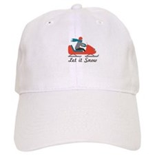 Let It Snow Baseball Baseball Cap