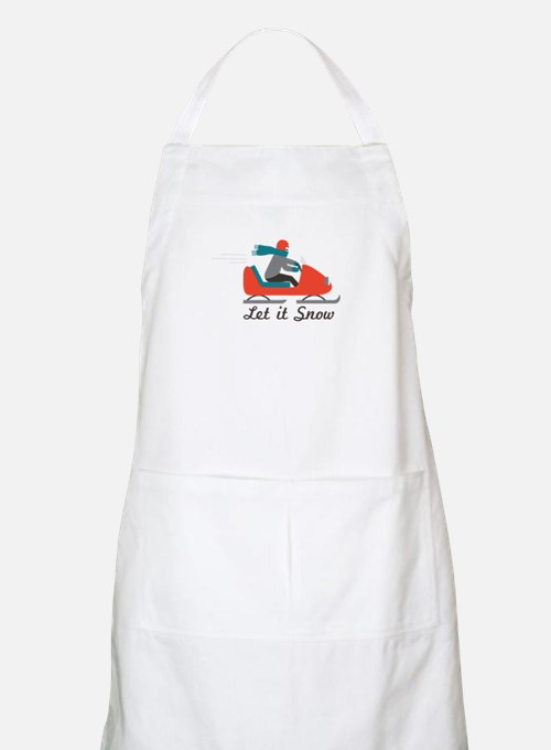 Let It Snow Apron