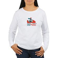 Snow Mobile Long Sleeve T-Shirt