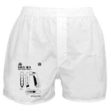 Space: 1999 - Stun Gun Boxer Shorts
