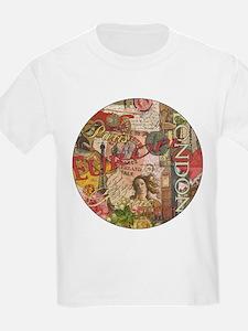 European Travel Vintage London Rome Paris T-Shirt