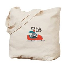 Ride Like The Wind Tote Bag