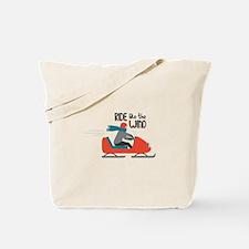 Ride Like The Wind Tote Bag