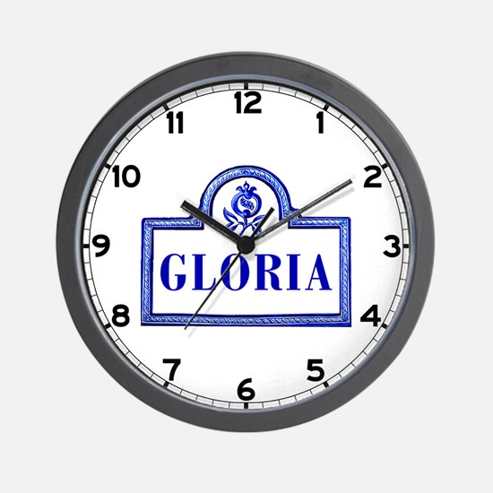 Gloria, Granada - Spain Wall Clock