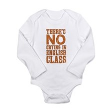 No Crying in English Class Body Suit