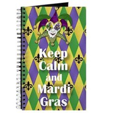 Keep Calm and Mardi Gras Journal