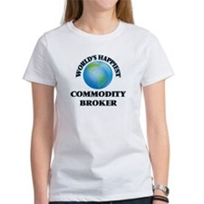 World's Happiest Commodity Broker T-Shirt