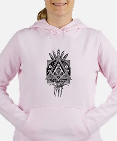 Freemasonry Symbol Women's Hooded Sweatshirt