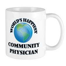 World's Happiest Community Physician Mugs