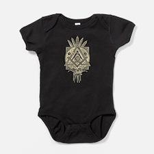 Freemasonry Symbol Baby Bodysuit