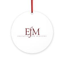 EfM Logo Ornament (Round)