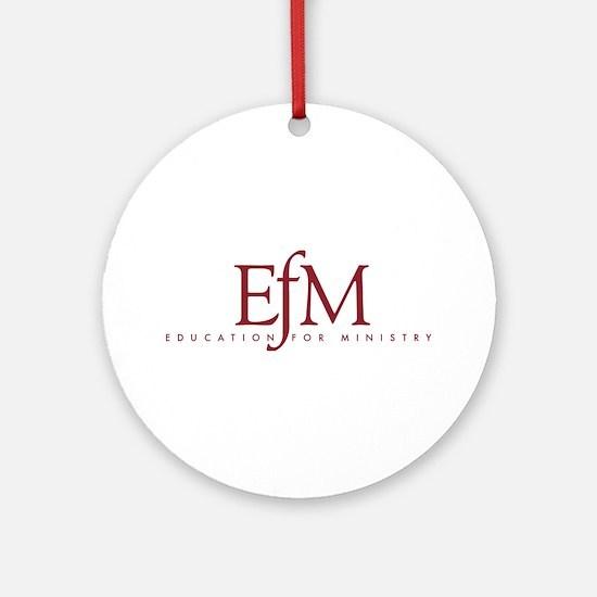 Efm Logo (round) Round Ornament