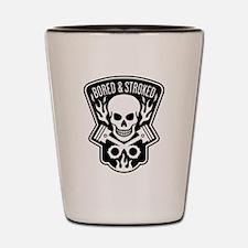 Skull and Pistons Biker Shot Glass