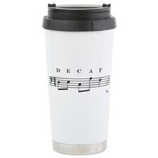 Funny Decaf Travel Mug