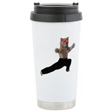 Unique Crazy cat lady organizer Travel Mug