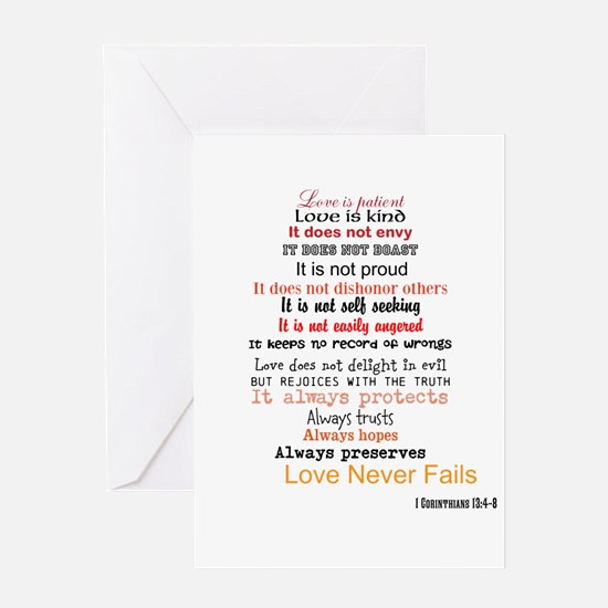 1 Corinthians 13 Greeting Cards