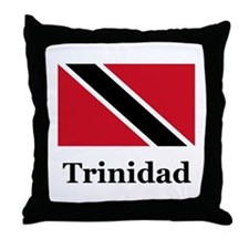 Trinidadian Throw Pillow