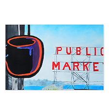 Public Market, Seattle Postcards (Package of 8)