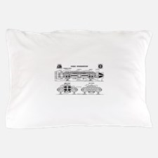 Space: 1999 - Eagle Transporter Pillow Case