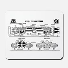 Space: 1999 - Eagle Transporter Mousepad