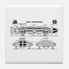 Space: 1999 - Eagle Transporter Tile Coaster