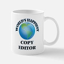 World's Happiest Copy Editor Mugs