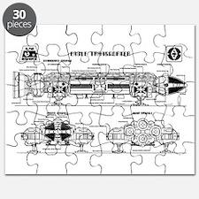 Space: 1999 - Eagle Transporter Puzzle