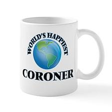 World's Happiest Coroner Mugs