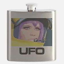 Moonbase Girl UFO SHADO Flask