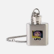 Moonbase Girl UFO SHADO Flask Necklace