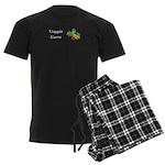 Veggie Guru Men's Dark Pajamas