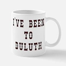 I've Been to Duluth Mug