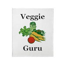Veggie Guru Throw Blanket