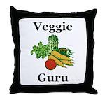 Veggie Guru Throw Pillow