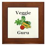 Veggie Guru Framed Tile