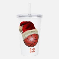 basketball Acrylic Double-wall Tumbler
