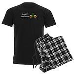 Lager Drinker Men's Dark Pajamas
