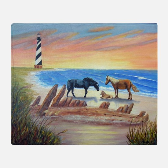 New Day Cape Hatteras Throw Blanket