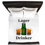 Lager Drinker King Duvet