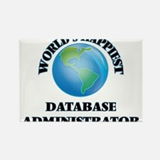 World's Happiest Database Administrator Magnets