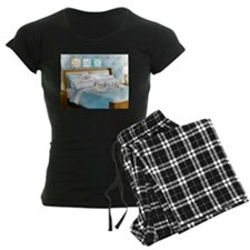 Sleeps with Maltese ByCatiaC Pajamas