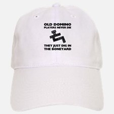 Domino Players Never Die Baseball Baseball Cap
