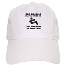 Domino Players Never Die Cap