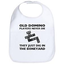 Domino Players Never Die Bib