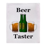 Beer Taster Throw Blanket