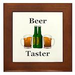Beer Taster Framed Tile