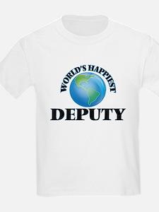 World's Happiest Deputy T-Shirt