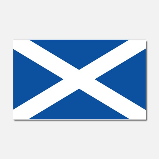 Scotland Flag Car Magnet 20 x 12