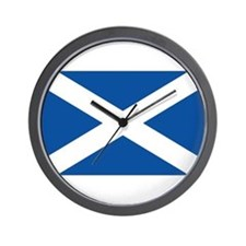 Scotland Flag Wall Clock